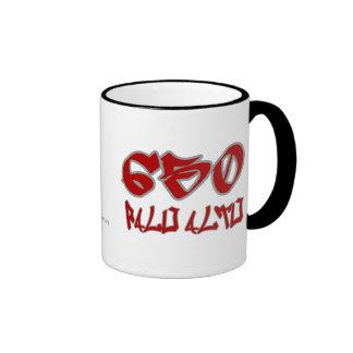 Rep Palo Alto (650) Ringer Coffee Mug