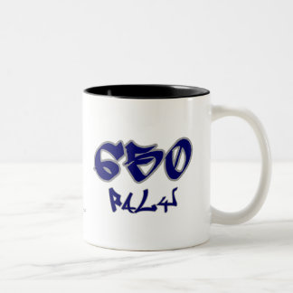 Rep Paly (650) Two-Tone Coffee Mug
