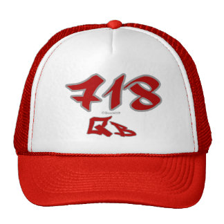 Rep QB (718) Trucker Hats