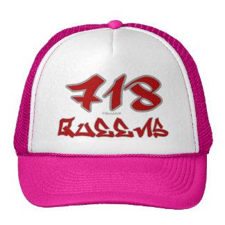 Rep Queens (718) Trucker Hat
