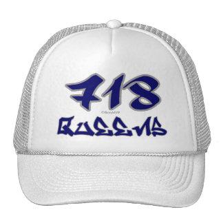 Rep Queens (718) Hat
