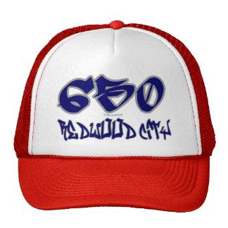 Rep Redwood City (650) Trucker Hat