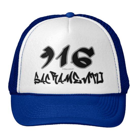 Rep Sacramento (916) Trucker Hat