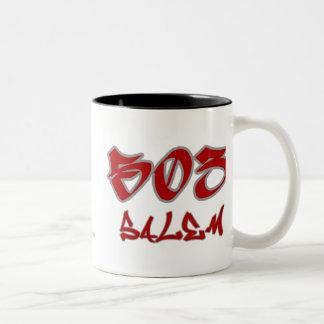 Rep Salem (503) Two-Tone Coffee Mug