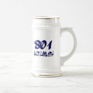 Rep Salt Lake City (801) Beer Stein
