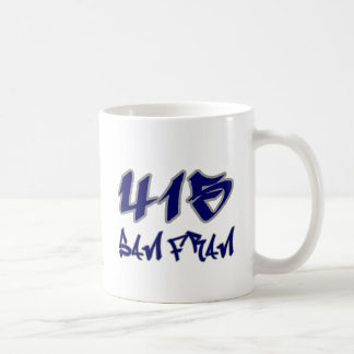 Rep San Fran (415) Coffee Mug
