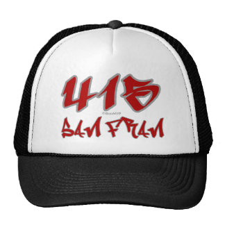 Rep San Fran (415) Trucker Hat