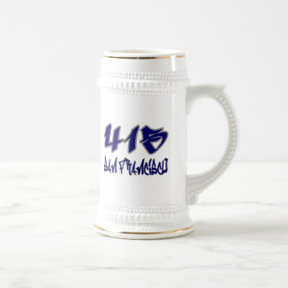 Rep San Francisco (415) Beer Stein