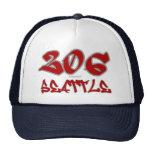 Rep Seattle (206) Trucker Hat