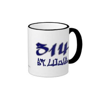Rep St. Louis (314) Coffee Mug