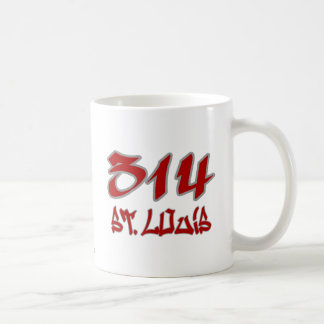 Rep St. Louis (314) Coffee Mugs