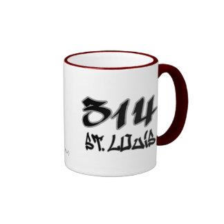 Rep St. Louis (314) Mugs