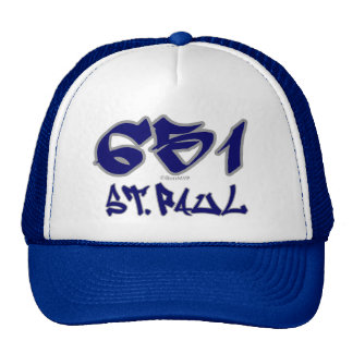 Rep St. Paul (651) Trucker Hat
