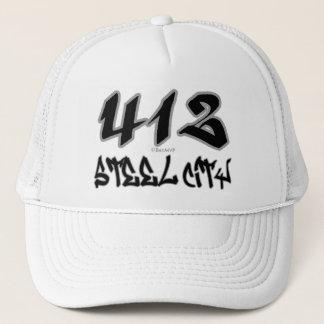 Rep Steel City (412) Trucker Hat