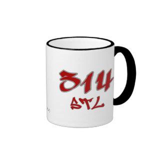 Rep STL (314) Mugs