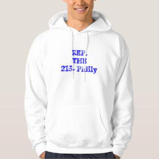 Rep the 215 hoodie