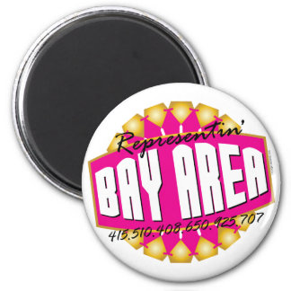 Rep The Bay Fridge Magnet