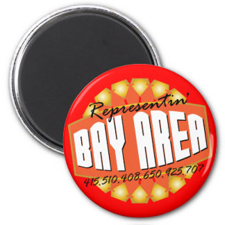Rep The Bay Magnets