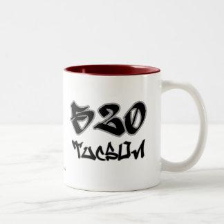 Rep Tucson (520) Two-Tone Coffee Mug