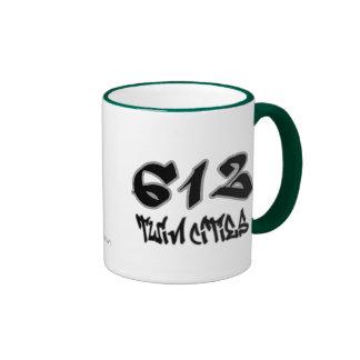 Rep Twin Cities (612) Coffee Mugs