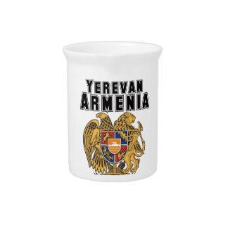 Rep Ya Hood Custom Armenia Beverage Pitchers