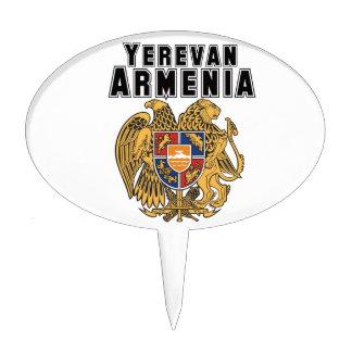 Rep Ya Hood Custom Armenia Cake Toppers