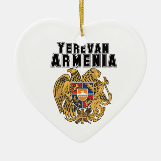 Rep Ya Hood Custom Armenia Ceramic Ornament