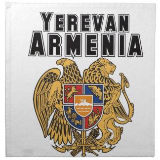 Rep Ya Hood Custom Armenia Cloth Napkin