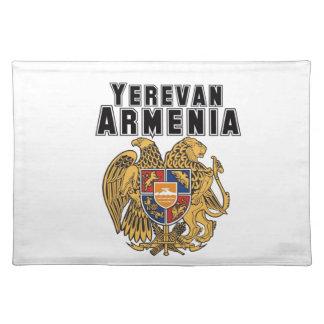 Rep Ya Hood Custom Armenia Cloth Place Mat