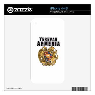 Rep Ya Hood Custom Armenia iPhone 4S Decals