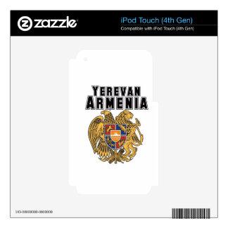 Rep Ya Hood Custom Armenia iPod Touch 4G Skins