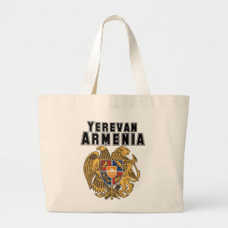 Rep Ya Hood Custom Armenia Jumbo Tote Bag