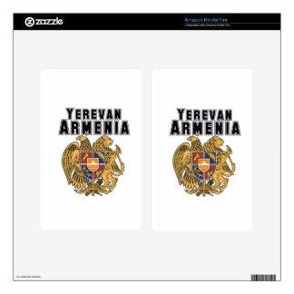 Rep Ya Hood Custom Armenia Kindle Fire Skin