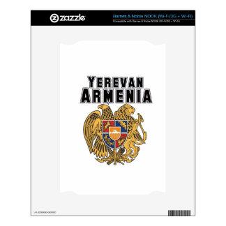 Rep Ya Hood Custom Armenia NOOK Decals