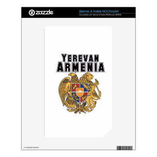 Rep Ya Hood Custom Armenia Decals For The NOOK Color