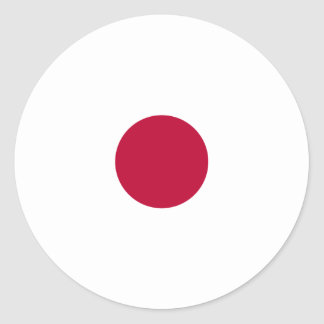 Rep ya hood Custom Collection(Japan) Classic Round Sticker