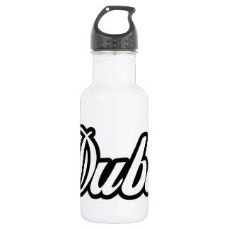 Rep Ya Hood Custom Dubai 18oz Water Bottle