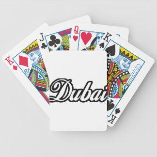 Rep Ya Hood Custom Dubai Bicycle Playing Cards