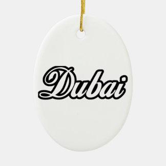 Rep Ya Hood Custom Dubai Ceramic Ornament