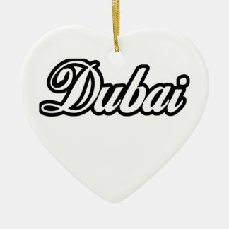 Rep Ya Hood Custom Dubai Ceramic Ornament