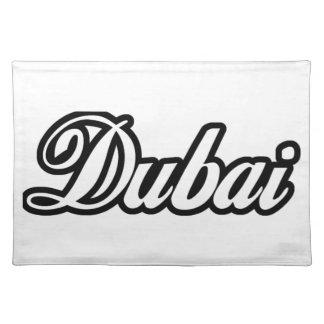 Rep Ya Hood Custom Dubai Cloth Placemat