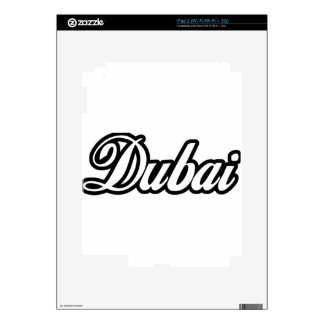 Rep Ya Hood Custom Dubai Decal For iPad 2