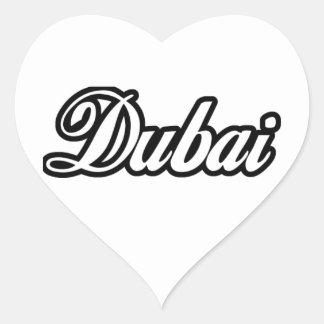 Rep Ya Hood Custom Dubai Heart Sticker