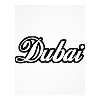 Rep Ya Hood Custom Dubai Letterhead