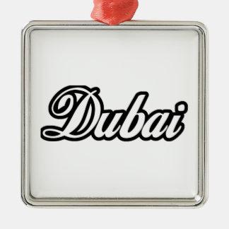 Rep Ya Hood Custom Dubai Metal Ornament