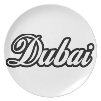 Rep Ya Hood Custom Dubai Party Plates