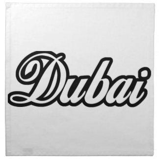 Rep Ya Hood Custom Dubai Printed Napkin