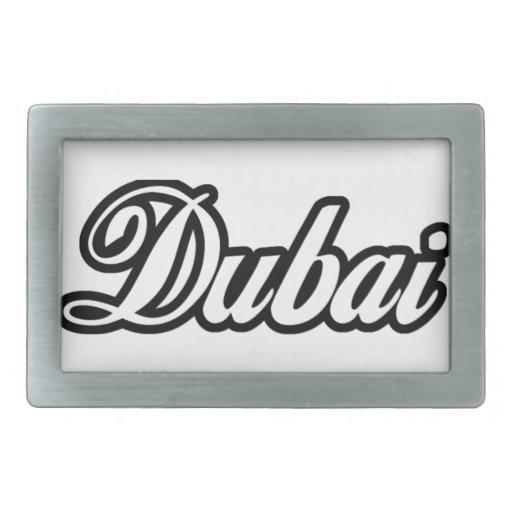 Rep Ya Hood Custom Dubai Rectangular Belt Buckles