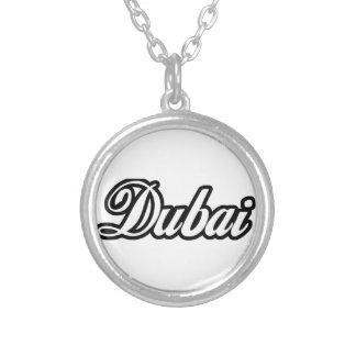 Rep Ya Hood Custom Dubai Round Pendant Necklace