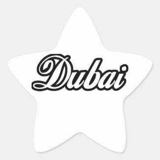 Rep Ya Hood Custom Dubai Star Sticker